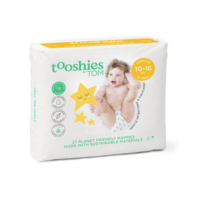 Tooshies Toddler Nappies 10-16kg - 27pk