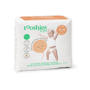 Tooshies Walker Nappies 12-18kg - 23pk