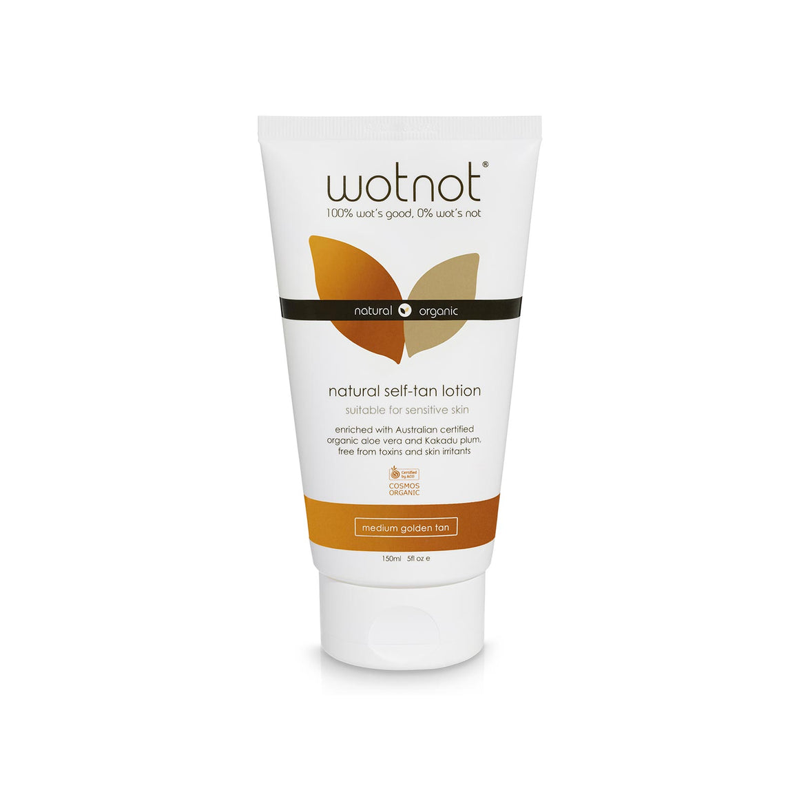 Wotnot Natural Self-tanning Lotion - 150ml