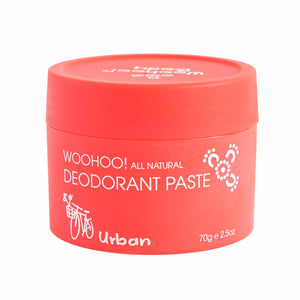 Woohoo All Natural Deodorant Paste Urban - 70g