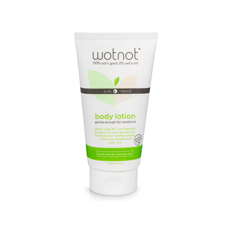Wotnot Natural Velvet Baby Lotion - 150ml