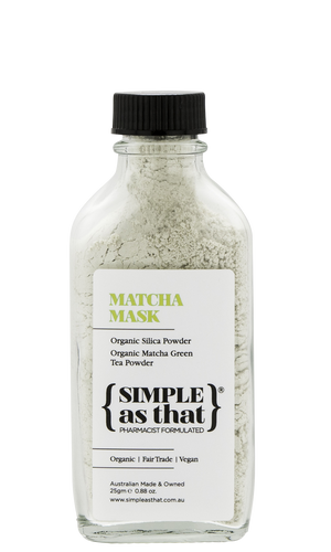 Simple as that Skin Nourishing Matcha Mask - 25g