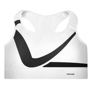 Movaol Padded Sports Bra Bianco per Studio 51