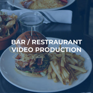 video production for restaurants & bars