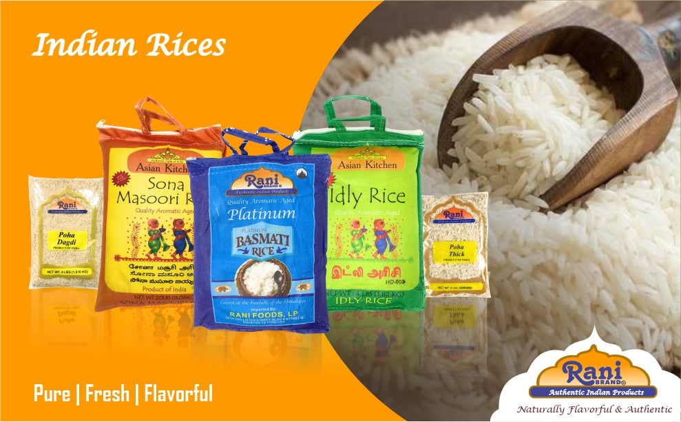 Rices from India