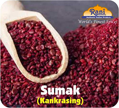 Rani Sumac (Sumak) Spice Ground Powder 3oz (85g) ~ All Natural, Salt-Free | Vegan | No Colors | Gluten Free Ingredients | NON-GMO