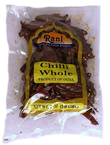Rani Red Chilli Whole {5 Sizes Available}