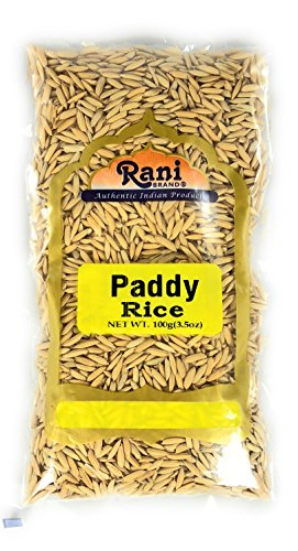 Rani Paddy Rice (Raw Unfinished Rice) {3 Sizes Available}
