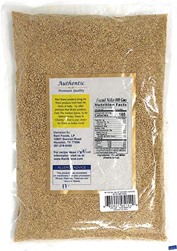 Rani Foxtail Millet Polished {3 Sizes Available}