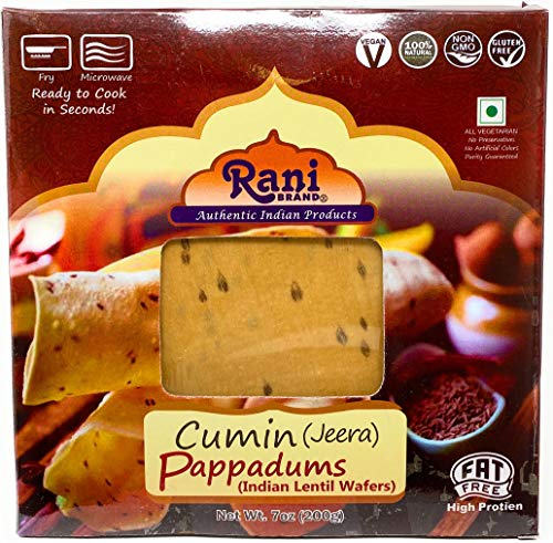 Rani Pappadums (Indian Lentil Wafer Snack) {6 Varieties Available}