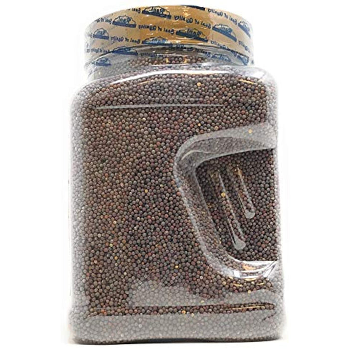 Rani Black Mustard Seeds Whole Spice (Kali Rai) 42oz (2.7 lbs) PET Jar All Natural ~ Gluten Friendly Ingredients | NON-GMO | Vegan | Indian Origin