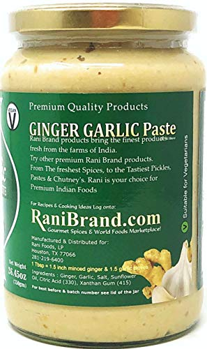 Rani Ginger Garlic Paste {6 Options Available}