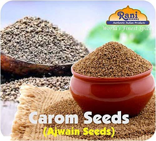 Rani Ajwain Seeds (Carom Bishops Weed) Spice Whole 3oz (85g) ~ Natural | Vegan | Gluten Friendly| NON-GMO | Indian Origin