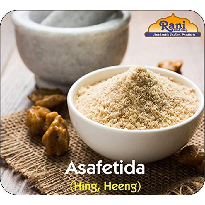 Rani Asafetida (Hing) Ground 3lbs (1.36kg Value Pack) Bulk ~ All Natural | Salt Free | Vegan | NON-GMO | Asafoetida Indian Spice | Best for Onion Garlic Substitute
