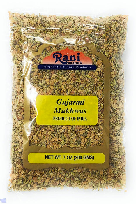 Rani Gujarati Mukhwas (Special After Dinner Mix) 200g (7oz) ~ Vegan | No Colors | Indian Origin