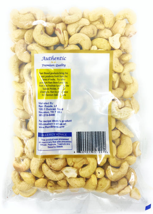 Rani Cashews Whole 7oz (200gm) Raw (uncooked, unsalted) ~ All Natural | Vegan | Gluten Free Ingredients