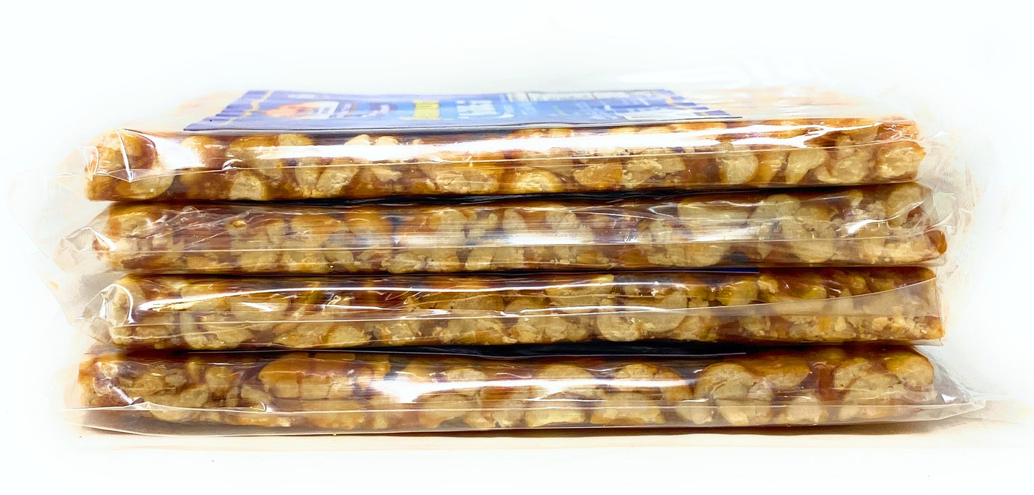Rani Peanut Chikki (Brittle Candy) 100g (3.5oz) x Pack of 4 ~ All Natural | Vegan | No colors | Gluten Free Ingredients | Indian Origin