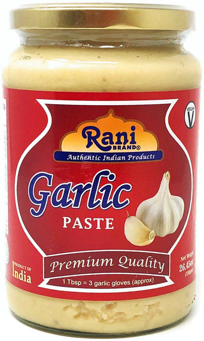 Rani Garlic Cooking Paste 26.45oz (750g) ~ Vegan | Gluten Free Ingredients | NON-GMO | No Colors | Indian Origin