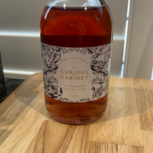 Curious Cabinet Strawberry Syrup