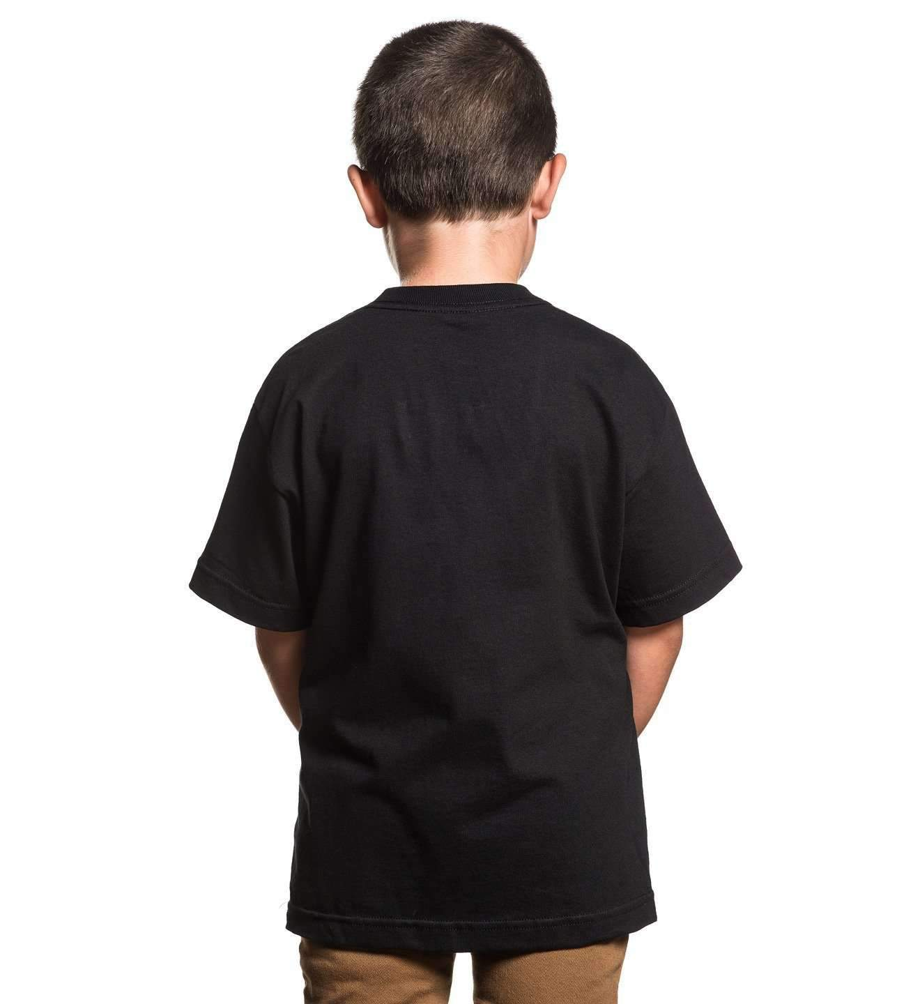 BOH YOUTH S/S TEE BLACK