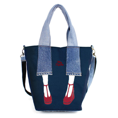 Mis Zapatos Shoulder Tote Bag  B6548