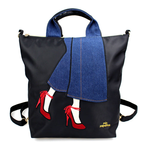 Mis Zapatos Backpack Shoulder Bag B6718