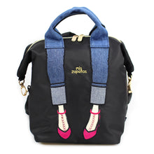 Load image into Gallery viewer, Backpack Shoulder Bag Mis Zapatos B-6867