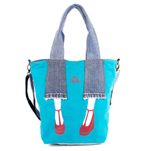 Load image into Gallery viewer, Mis Zapatos Shoulder Tote Bag  B6548