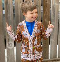 All Sizes Classic Cardigan - PDF Apple Tree Sewing Pattern