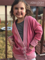 Big Kids Classic Cardigan - PDF Apple Tree Sewing Pattern