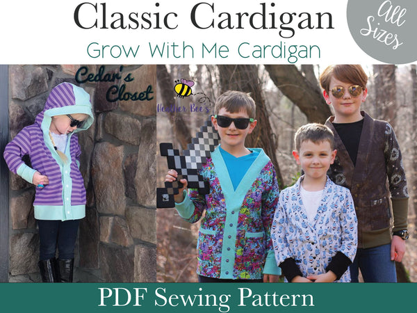 Classic Cardigan- All Sizes