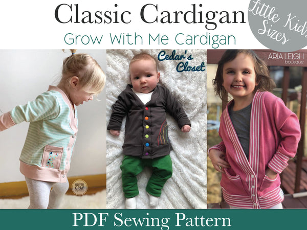 Classic Cardigan- Little Kids