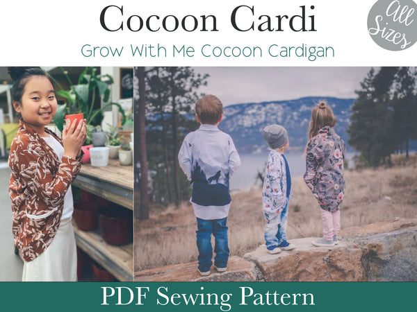 Cocoon Cardi- All Sizes
