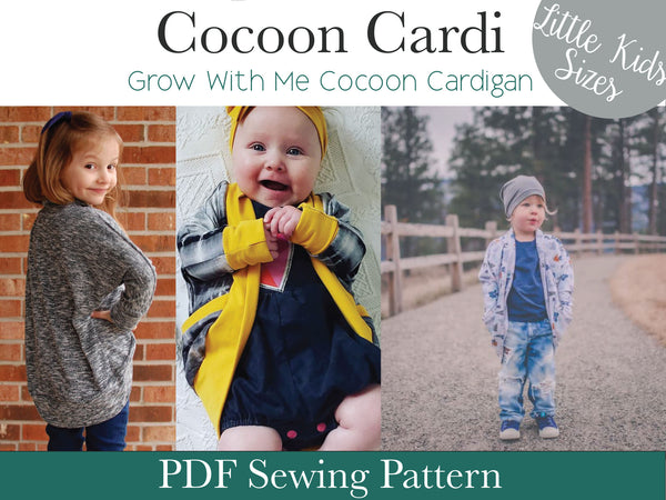 Cocoon Cardi- Little Kids