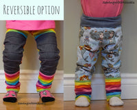 Grow Along Pants: Grow with me joggers to leggings - Little Kids Sizes