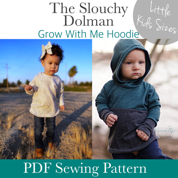 Little Kids Slouchy Dolman