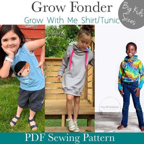 Grow Fonder- Big Kids Sizes