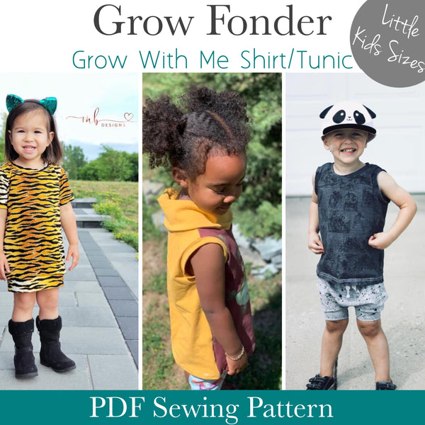 Updated Grow Fonder- Little Kids Sizes