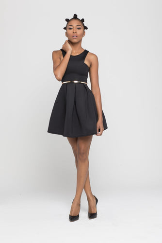 Neoprene Skater dress