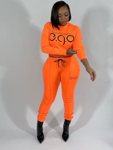 Orange ego set