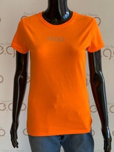 Load image into Gallery viewer, Orange reflective tee