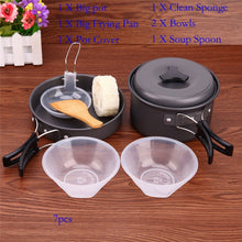 Load image into Gallery viewer, 7pcs Camping Cookware
