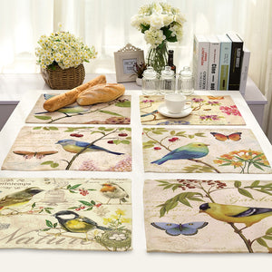 Animal Series Patterns Placemats