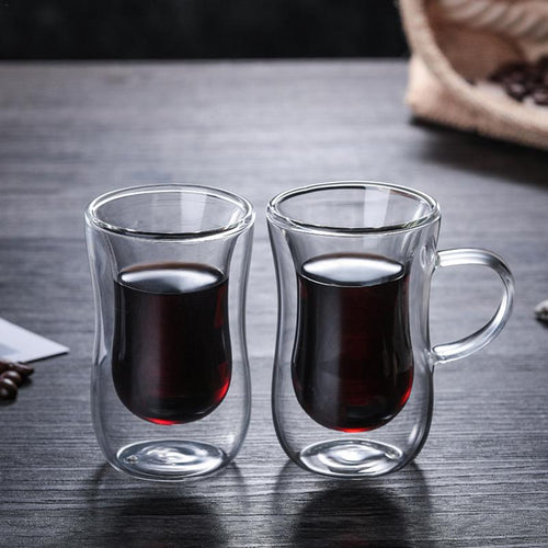 Double Wall Insulated Espresso Glass