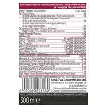 Load image into Gallery viewer, Gold Collagen MULTIDOSE 40+ nutritional information details
