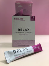 Load image into Gallery viewer, PinkCloud Beauty Co RELAX - Open with sachet