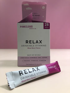 PinkCloud Beauty Co RELAX - Open with sachet