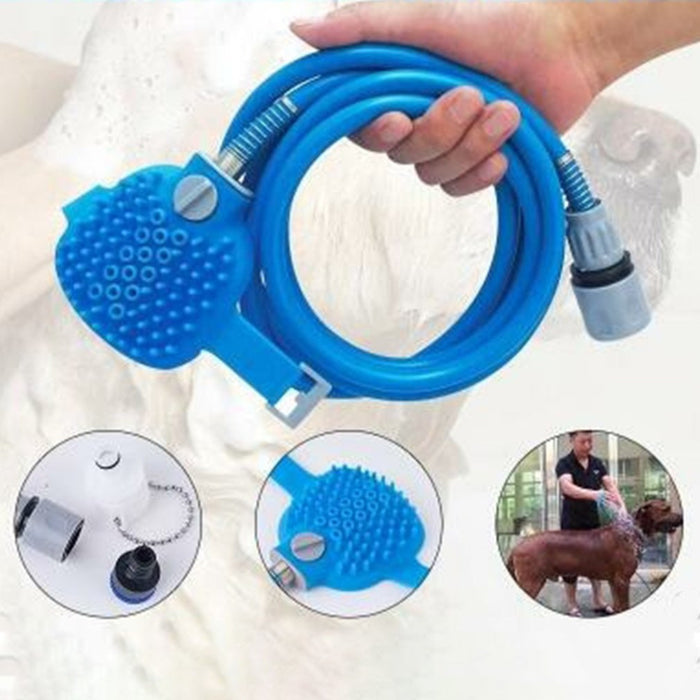 Multifunctional Dog Shower Cleaner Brush Pet Comb Massage Bathroom Sprayer Dog Cat Horse Household Cleaning Tool Pet Supplies