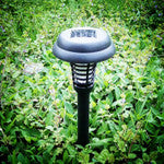 Solar Powered LED Light Mosquito Pest Insect Killer Lamp Outdoor Garden Mosquito Repellent Path Lighting Lamps