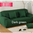 Solid color sofa cover